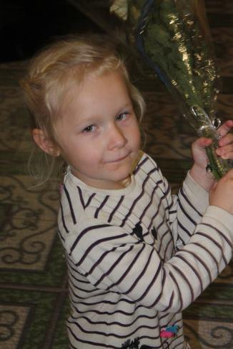 Sofia ist 5 Jahre alt, besucht noch den Kindergarten aber wird dieses Jahr eingeschult.
