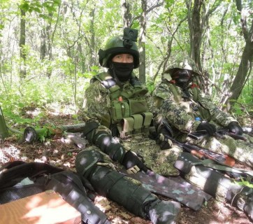 """A Russian mercenary known by the call sign """"Motorola"""""""