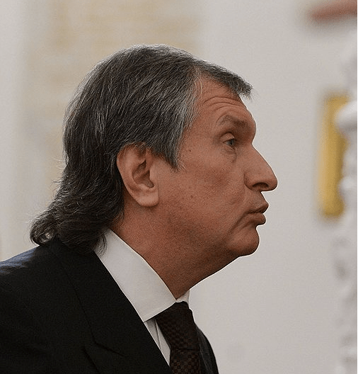 Apparently Rosneft CEO Igor Sechin was banned from getting a haircut as part of the sanctions