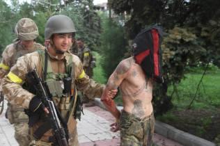 News of Ukraine | STN: ukrainische SOF-Einheiten befreien Dscherschinsk am 22. Juli 2014, Photo 4