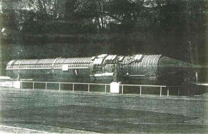 15A11 command missile of the Perimeter System, design bureau Pivdenne (Yuzhnoye), Dnipropetrovsk, Ukraine, Soviet era