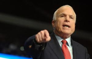 McCain it is 'cowardly' for US not to arm Ukrainians