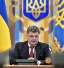 President Petro Poroshenko called again to designate Ukraine a major non-NATO ally