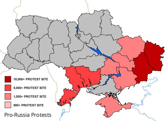Pro-russia-protests