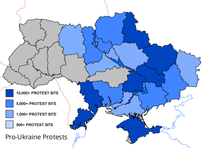 Pro-ukraine-protests