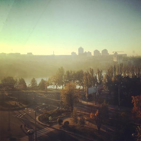 Geisterstadt Donezk