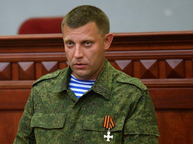 """Alexander Sachartschenko, der aktuelle Führer der selbsternannten """"Donezker Volksrepublik"""""""