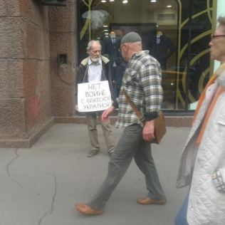"""Foto: alteravoce - """"Nein zum Krieg mit dem Bruderland Ukraine"""""""