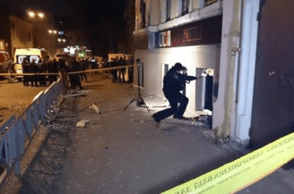 Attack by Russian terrorists in Kharkiv, Ukraine
