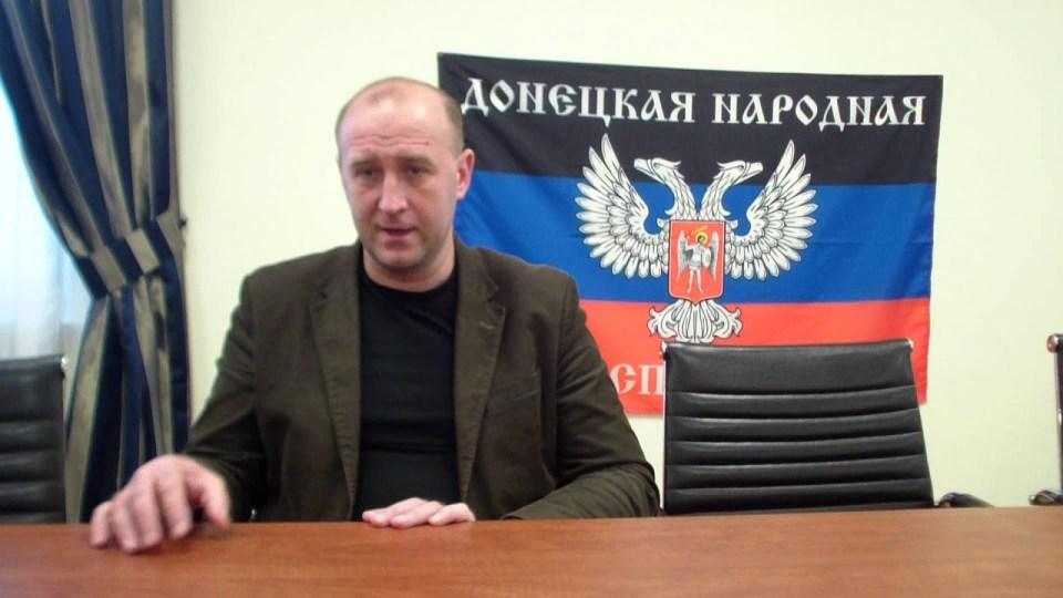 """Oleksyj Hranowskij, DVR-""""Energieminister"""""""