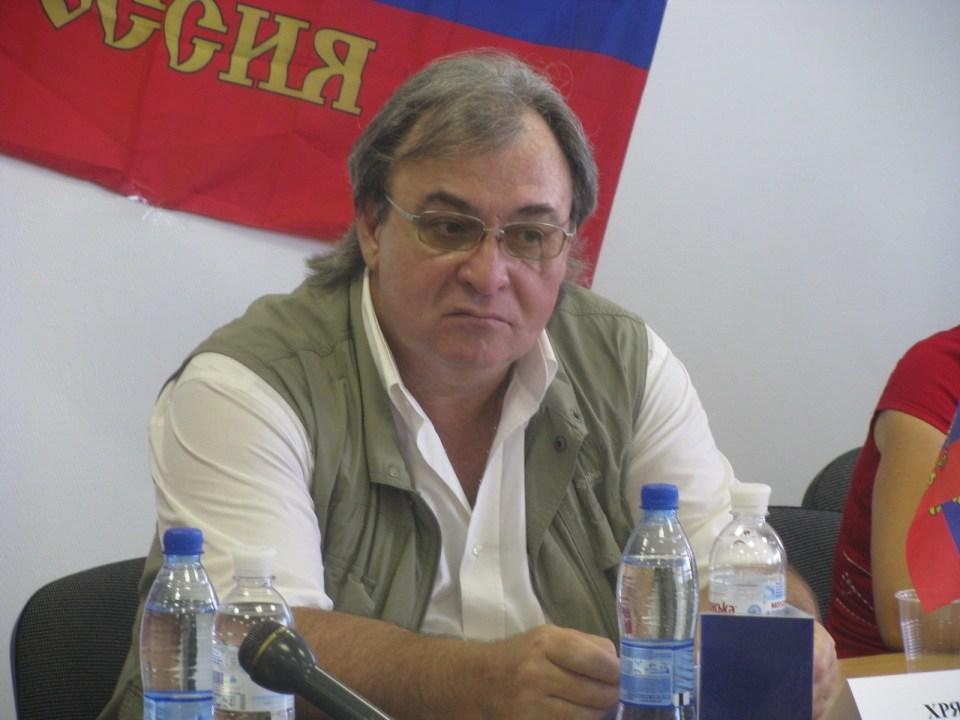 "Oleksandr Chrjakow, DVR-""Minister für Information und Massenkommunikation"""