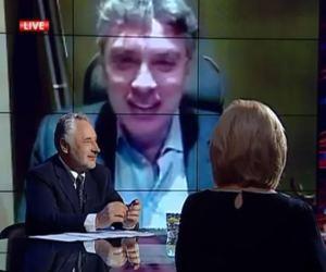 Boris Nemtsov on the Savik Shuster show, November 30, 2014