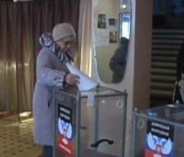 Pseudo elections in Donbas