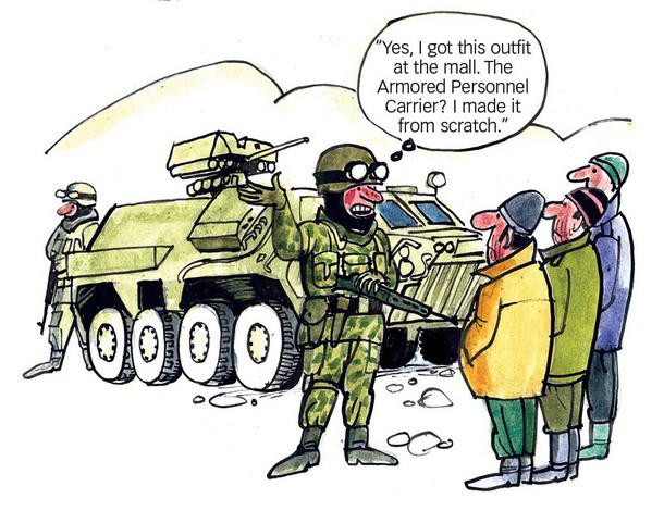 Russia's hybrid war against Ukraine. Source: Kyiv Post