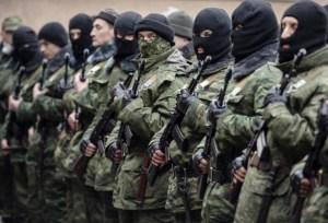 "Putin's ""little green men"""