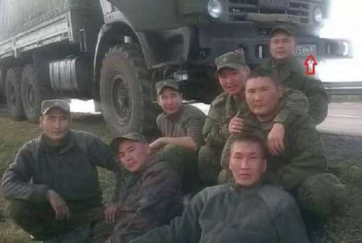 The Putin regime has been using ethnically non-Russian troops for its aggression in Ukraine (Image: social media)
