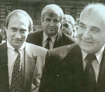 Gorbachev and Putin