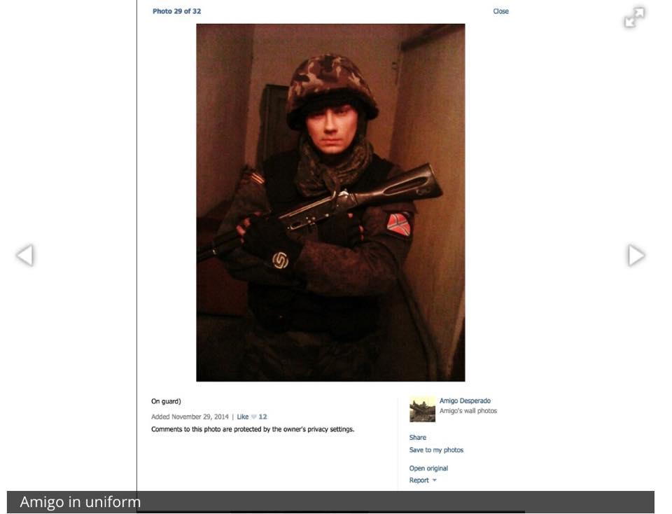 Russian Soldier in Uniform