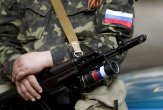Russian mercenary fighting in Donbas, Ukraine