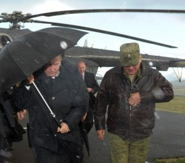 Putin and Shoygu