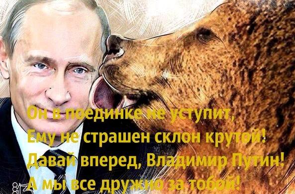 Pro-Putin Internet propaganda meme
