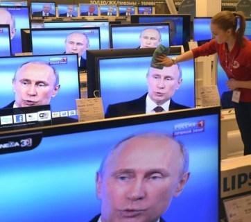 Putin on TV