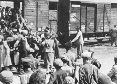 Deportation of Crimean Tartars, May 1944. The entire population of Crimean Tatars who survived the German occupation of the peninsula (up to 200 000) were deported by Stalin just in two days to remote rural locations in Central Asia and Siberia. A year later, after the end of the WW2, when the Soviet Army was demobilizing, Crimean Tatar soldiers were sent into exile too. (Photo: cidct.org.ua)