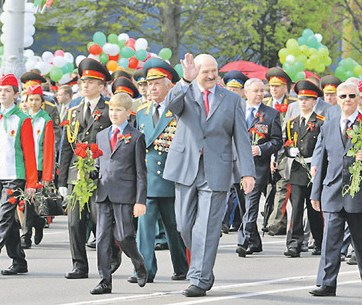 Belarusian leader Alyaksandr Lukashenka, just one of many who made the decision to not come to Moscow for celebration of the Victory Day