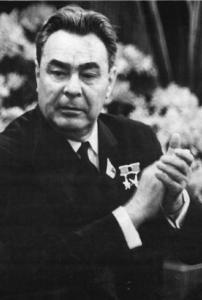 Leonid Brezhnev in East Berlin, 1967 (Photo: Bundesarchiv Bild 183-F0417-0001-011)