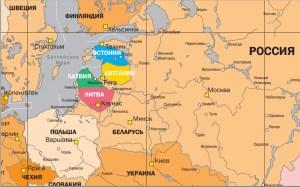 """Rostislav Ishchenko's vision of """"slightly updated Europe"""" (Image: NewsBalt)"""