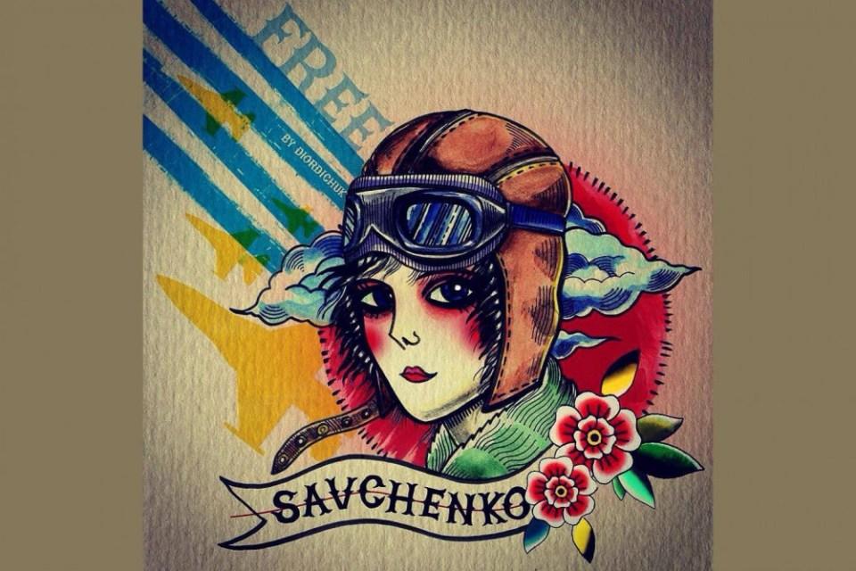 #FreeSavchenko, by Mariya Diordichuk