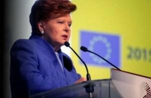 Vaira Vike-Freiberga, Former President of Latvia (Image: turkist.org)