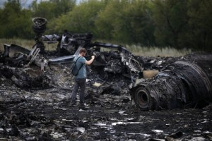 Remains of Malaysia Airline Flight MH-17