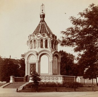 Chapel in Vilnius, erected to commemorate the crushing of the 1863 January Uprising against Russia, picture taken Sergei M. Prokudin-Gorskii (Image: Wikipedia)