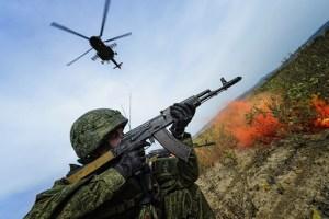 Military exercises in Russia (Image: Gazeta.ru)