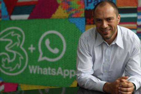 WhatsApp (Jan Koum) founder comes from Ukraine