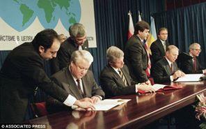 Signing of the Budapest Memorandum