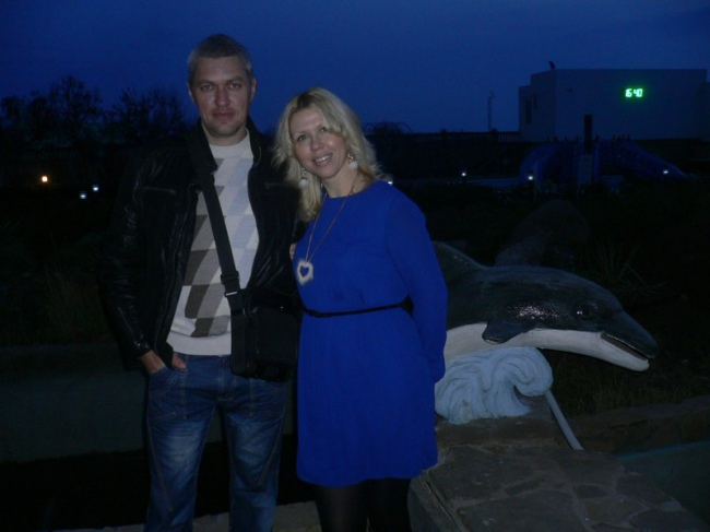 Stanyslav Klikh with Viktoria Symonov. Photo from his vk.com page