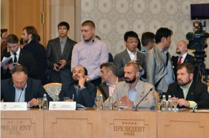 A global separatist event in Moscow ordered and paid for by the Kremlin. Moscow, September 20, 2015 (Image: Ekaterina Kaulina)