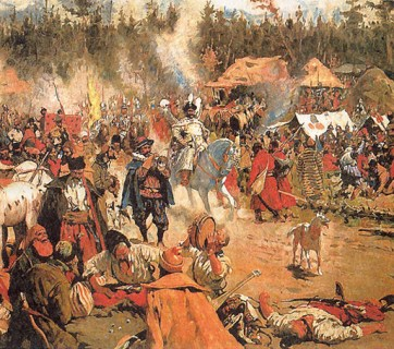 Moscovy in the Time of Troubles by S.V. Ivanov (Image: Wikipedia)