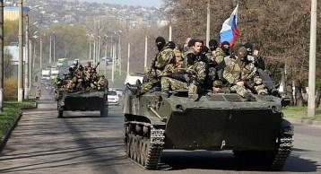 Russian mercenaries in Donbas