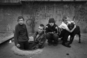 """Some of the five to seven million Russian children are living on the streets as """"besprizorniki,"""" who seldom go to school and often turn to drugs and crime. They too are the collateral damage of Russia's wars. (Image: imrussia.org)"""