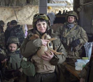 women in Donbas