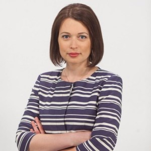 Inga Springe, a founder of the Baltic Center for Investigative Journalism (Image: RFE/RL)