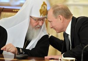 Kirill Putin Church Orthodox Russia