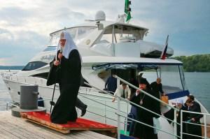 Russia Church Kirill yacht