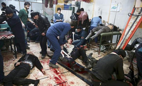Russia Syria civilians airstrike killed
