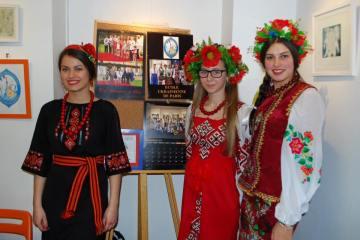 The final-year students of the Ukrainian Paris school. Photo: Markiian Peretiatko