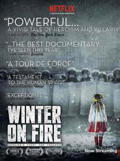 Official poster for Winter on Fire