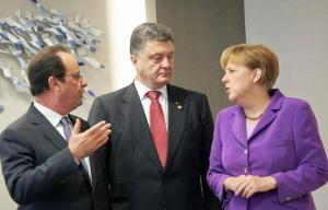 """Ukraine is being subjected to enormous pressure to fulfill what the West calls """"the Ukrainian portion"""" of the Minsk agreements. Our Western partners are virtually ignoring the fact that the fulfillment of these commitments, which are tied to constitutional and legislative changes in Ukraine, is to be preceded by the end of the war and the withdrawal of occupation troops at least from the line of demarcation."""